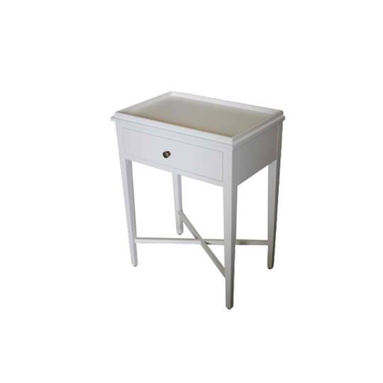 Bedside Table - White Poplar
