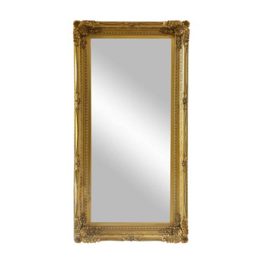 Chateau Wall Mirror Antique Gold
