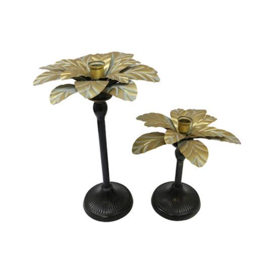 Miami Palm Candlestick Small