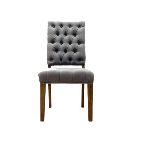 Casa Dining Chair Linen Frost Grey