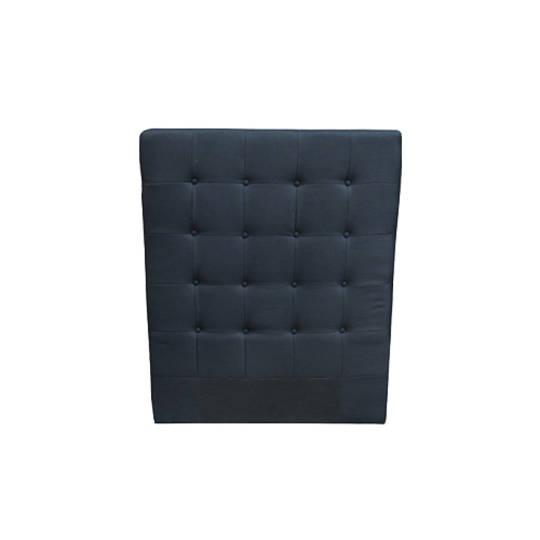 Charly Bedhead King Single Black Fabric