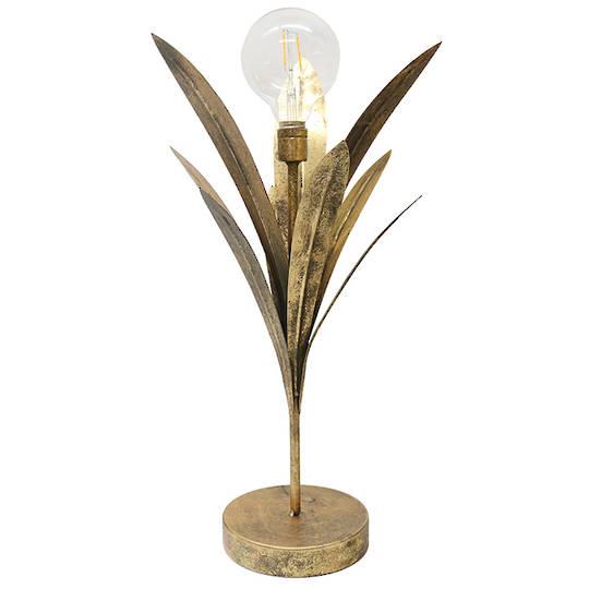 Flax Leaf LED Lamp 53cm