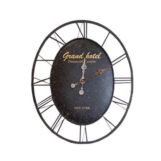 Oval Grand Hotel Clock