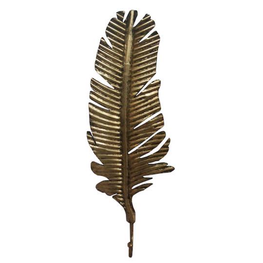 Leaf Gold Hook