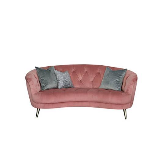 Jean Midi Sofa - Plush Rose