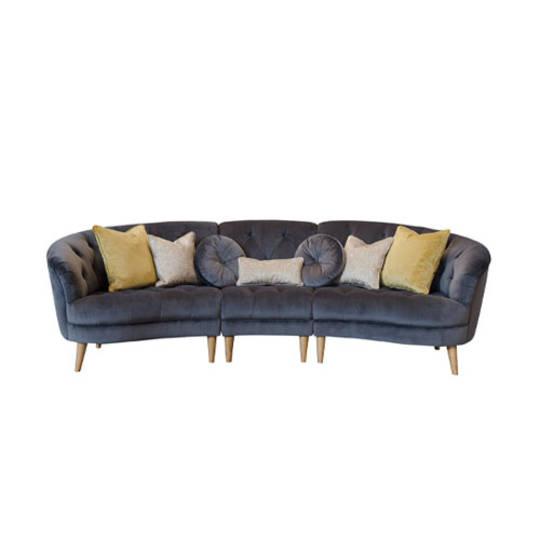 Jean Maxi XL Sofa - Plush Asphalt