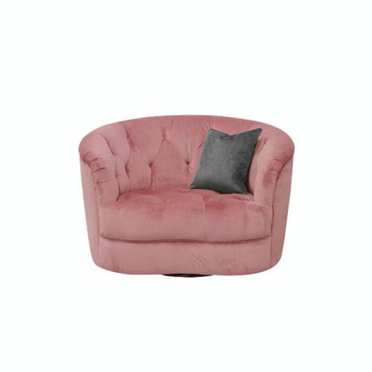 Jean Twister Chair Plush Velvet