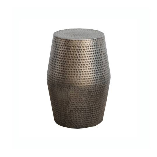 Brass Stool Dark 50cm