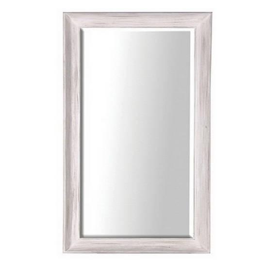 Large White Deep Frame Mirror