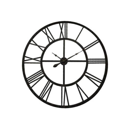 Latticework Iron Clock