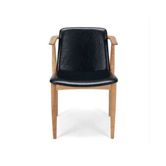 Magnus Chair Vintage Black PU