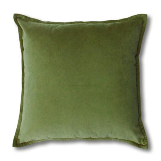 Mira Leaf Velvet Cushion