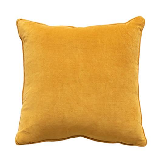 Montpellier Ochre Cushion