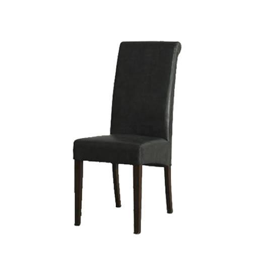 New Kelly Bicast Dining Chair Black/Light Leg