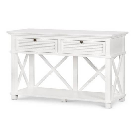 Coast 2-Drawer Hall Table White