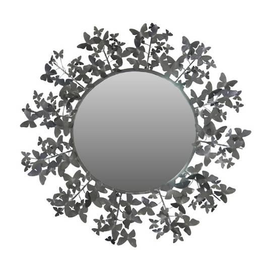 Butterfly Mirror Metal 80cm