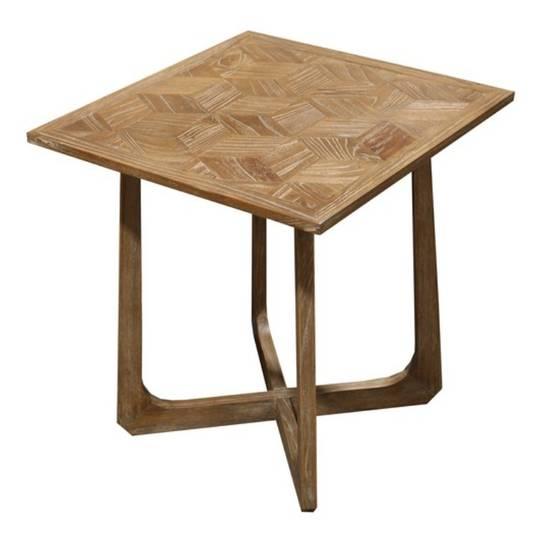 Milan Side Table Natural Elm