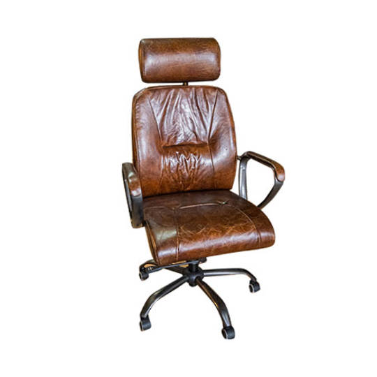 Philadelphia High Back Leather Recliner Office Chair