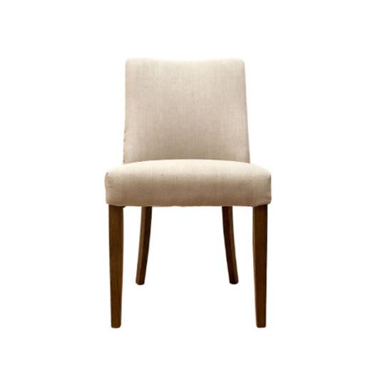 Plain Linen Dining Chair