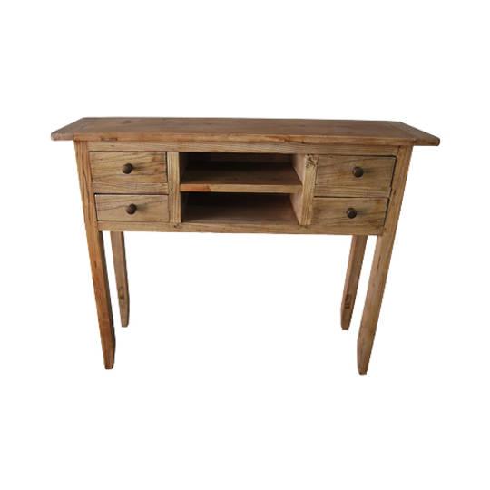 Recycled Elm 4 Drawer Dresser