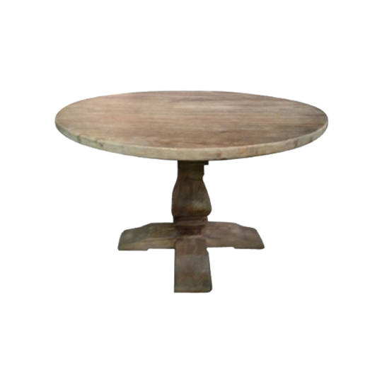 Recycled Elm Round Dining Table 1.4M