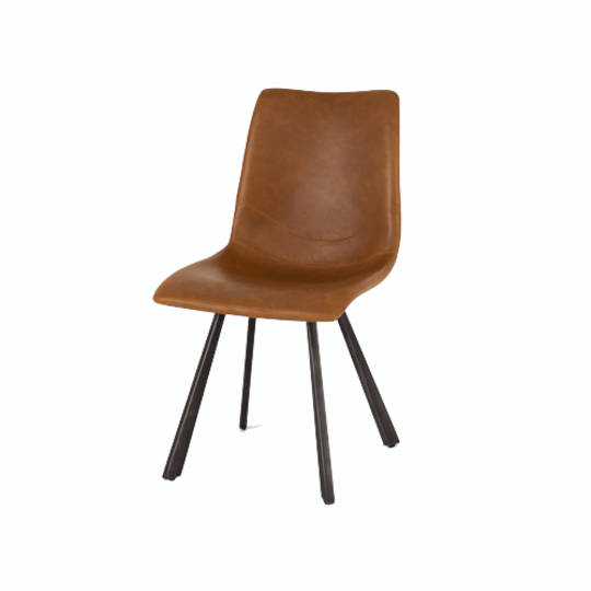 Rustic Chair Vintage Cognac