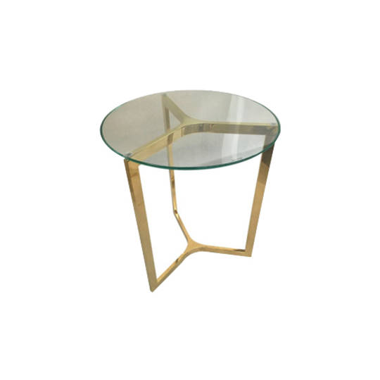 Side Table Gold Silver