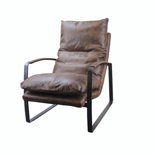 Sienna Vintage Leather Lounge Chair
