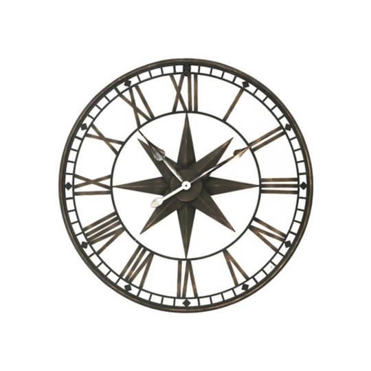 Star Iron Wall Clock