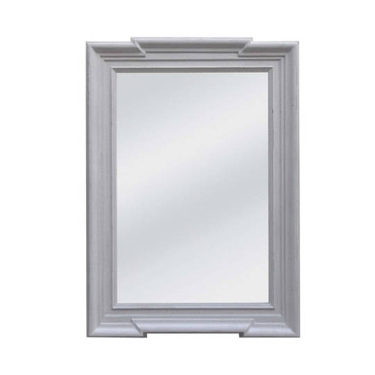 Stone Grey Frame With Flat Mirror