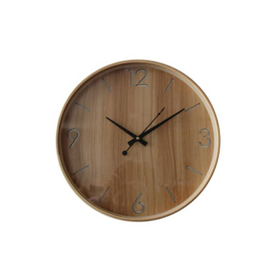 Swedish Wood Wall Clock