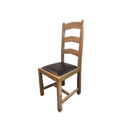 Turku  Light Oak Dining Chair