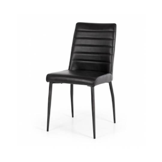 Veronica Chair Vintage Black PU