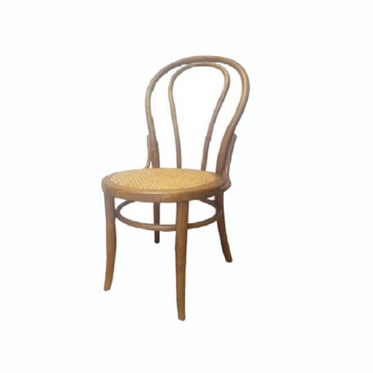 Vienna Bentwood Dining Chair Antique Oak