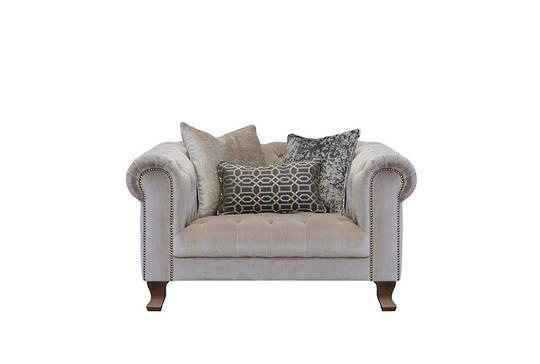 Vivienne Snuggler Chair Dickens Mushroom