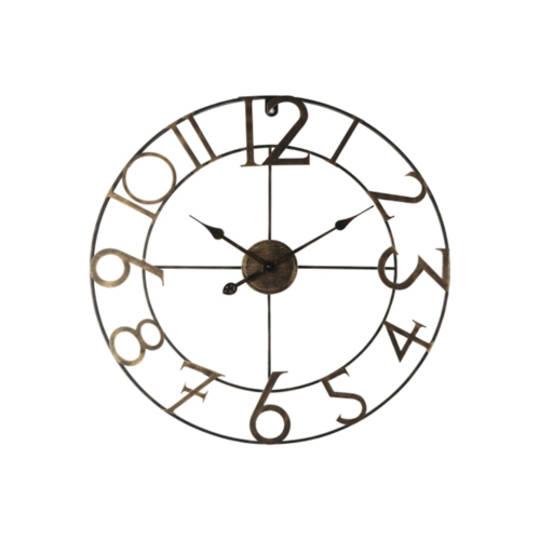 William Iron Wall Clock