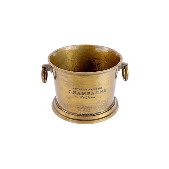 Brass Aluminium Wine Cooler
