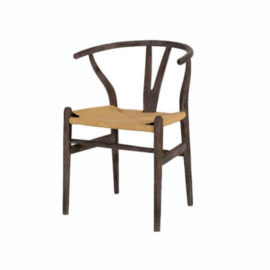 Wishbone Dining Chair - Burnt Oak