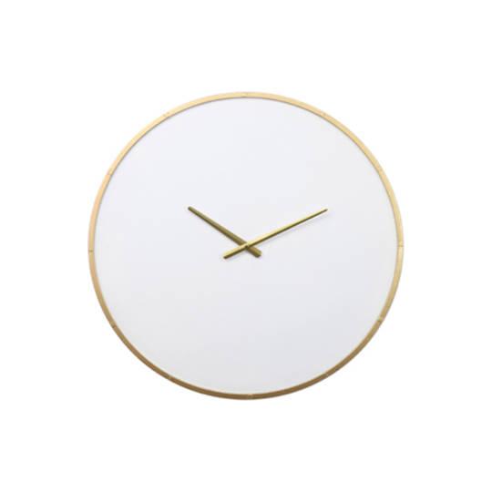 Wyatt Iron Wall Clock