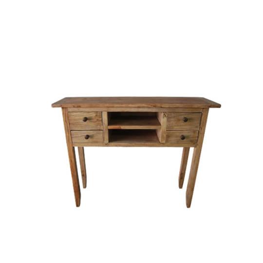 Recycled Elm Dresser 4 Drawer