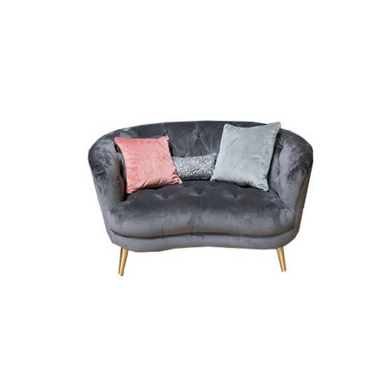 Jean Snuggler Chair Plush Slate