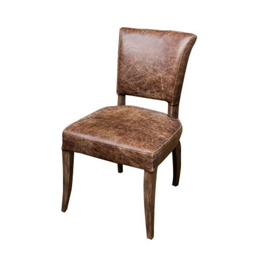 Milan Dining Chair Full Leather