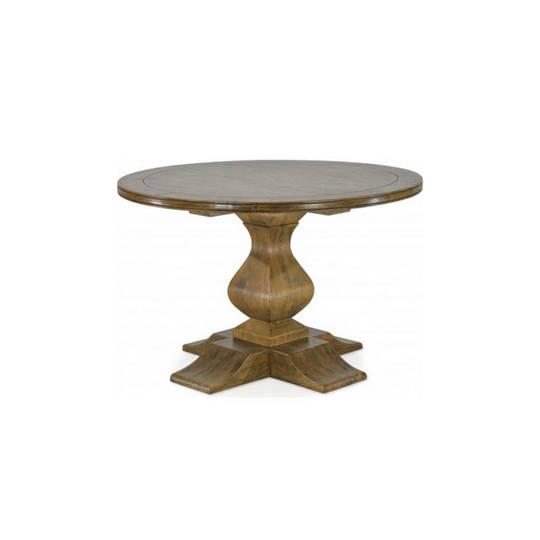 Antique Mango Wood Round Table 120cm