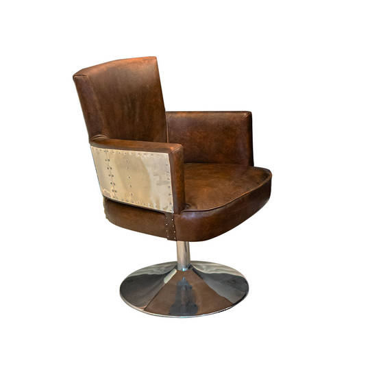 Treviso Study Chair with Stainless Steel