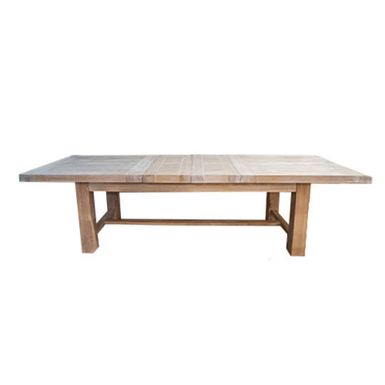 Oak Extension Table 3 Metre White Washed