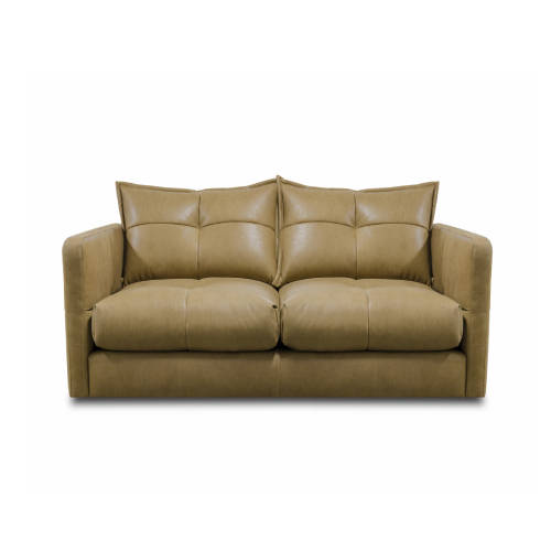 Quinn 3 Seater Sofa Leather Soul Camel