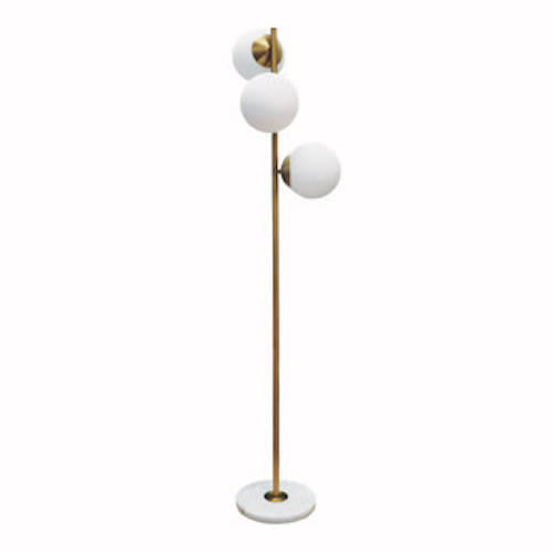 Soho Brass Floor Lamp