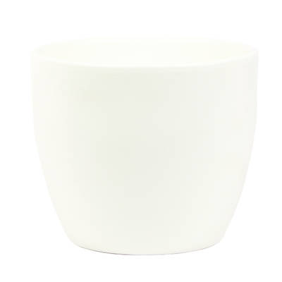 Dana 15cm Vanilla Matte Ceramic Pot