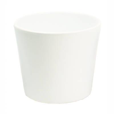 Millie 15cm White Gloss Ceramic Pot
