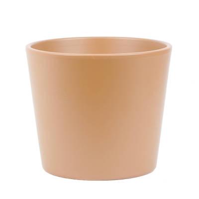 Millie 15cm Caramel Matte Ceramic Pot